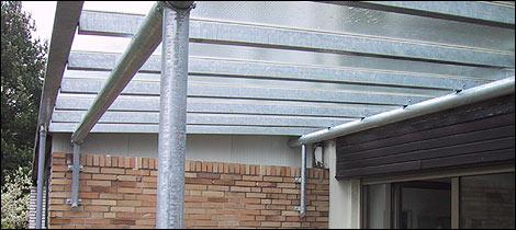 Metall überdachung metallbau kleefisch layout